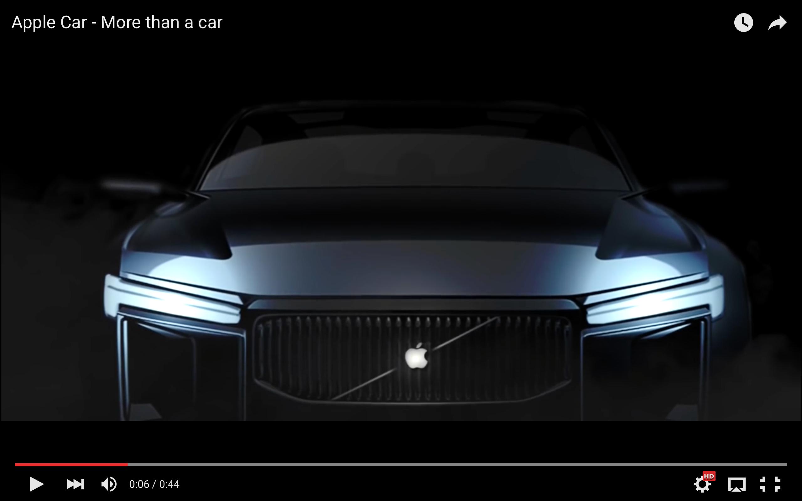 Image of 【Apple】アップル社が出す車「Apple Car」がコチラ!?