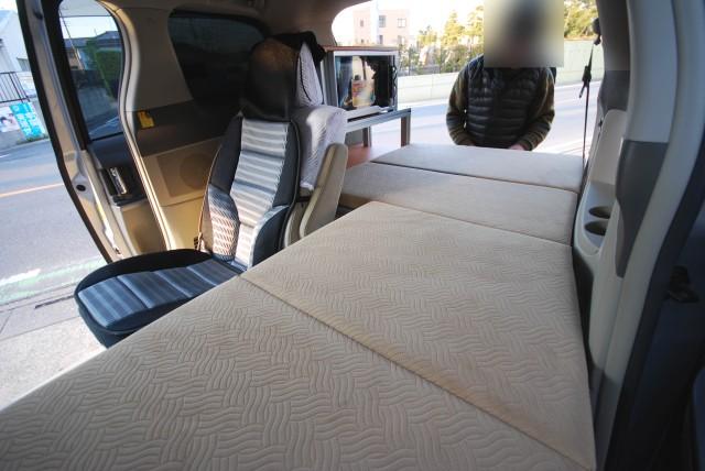 車中泊ができる簡易避難所